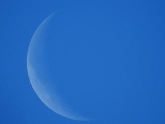 Blue Sky Moon - 1-5-2016